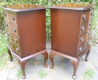 Pair Small Mahogany Chest of Drawers